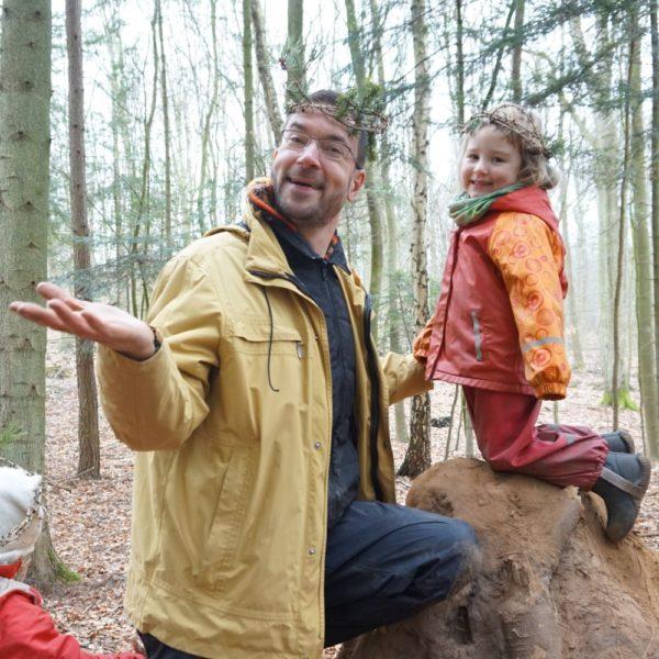Wir sind zwei Waldprinzessinnen!